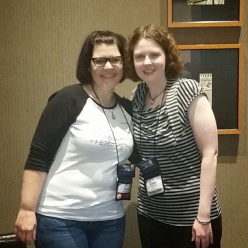#rt15 Just hanging with Jennifer Estep #bookshots
